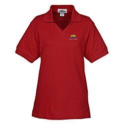 View a larger, more detailed picture of the Venice 60 40 Blend Pique Polo - Ladies