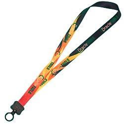 View a larger, more detailed picture of the Dye-Sublimated Lanyard - 3 4 - Sports