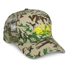View a larger, more detailed picture of the Mesh Back Camouflage Cap - Heat Transfer