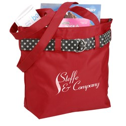 View a larger, more detailed picture of the Polka Dot Tote