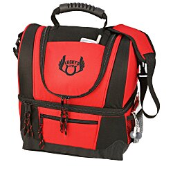 View a larger, more detailed picture of the Dual Compartment Kooler Bag