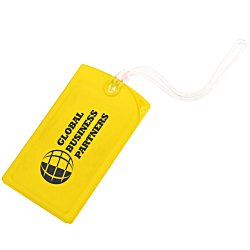 View a larger, more detailed picture of the Explorer Luggage Tag - Opaque