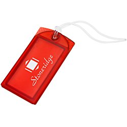 View a larger, more detailed picture of the Explorer Luggage Tag - Translucent - 24 hr