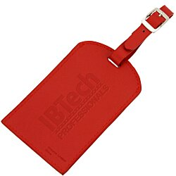 View a larger, more detailed picture of the Colorplay Leather Luggage Tag
