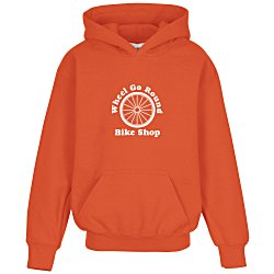 View a larger, more detailed picture of the Gildan 50 50 Hooded Sweatshirt - Youth - Screen