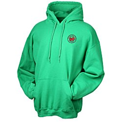 View a larger, more detailed picture of the Gildan 50 50 Hooded Sweatshirt - Embroidered - Colors