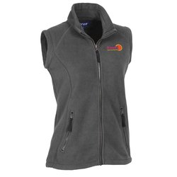 View a larger, more detailed picture of the Katahdin Tek Fleece Vest - Ladies - Closeout