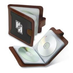 View a larger, more detailed picture of the Chairman Two-Tone CD Case - Closeout