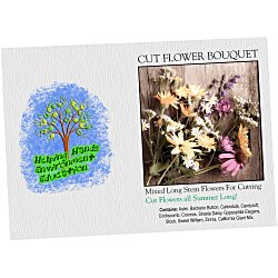 View a larger, more detailed picture of the Impression Series Seed Packet - Cut Flower Bouquet
