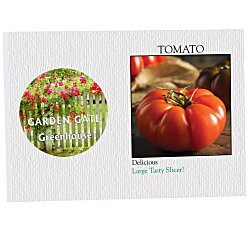 View a larger, more detailed picture of the Impression Series Seed Packet - Tomato
