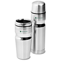View a larger, more detailed picture of the Deco Band Bottle & Tumbler Gift Set