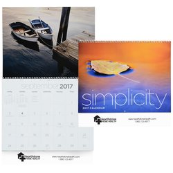 View a larger, more detailed picture of the Simplicity Calendar