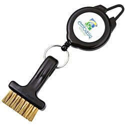 View a larger, more detailed picture of the EZ Retractable Golf Brush
