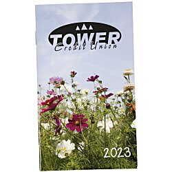 View a larger, more detailed picture of the Impressions Monthly Pocket Planner - Floral