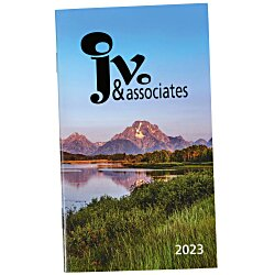 View a larger, more detailed picture of the Impressions Monthly Pocket Planner - Scenic