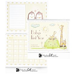 View a larger, more detailed picture of the Baby s First Year Calendar - English