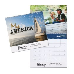 View a larger, more detailed picture of the My America 12-Month Calendar