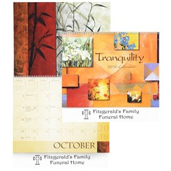 View a larger, more detailed picture of the Tranquility Calendar