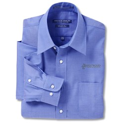 View a larger, more detailed picture of the Forsyth Pinpoint Oxford - Men s - 35 Sleeve
