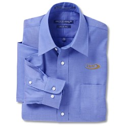 View a larger, more detailed picture of the Forsyth Pinpoint Oxford - Men s - 37 Sleeve