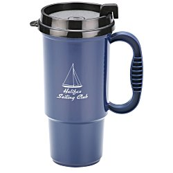 View a larger, more detailed picture of the Insulated Auto Mug - 16 oz - Recycled