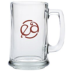 View a larger, more detailed picture of the Glass Tankard Mug - 14 5 oz