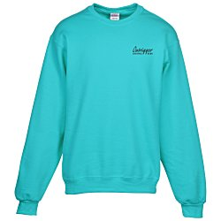 View a larger, more detailed picture of the Jerzees NuBlend Crewneck Sweatshirt - Screen