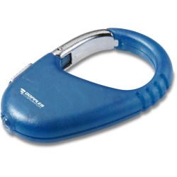View a larger, more detailed picture of the LED Carabiner - Translucent