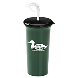 View a larger, more detailed picture of the Sport Sipper with Straw - 32 oz - Recycled