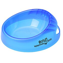 View a larger, more detailed picture of the Scoop-it Bowl - Small - Translucent