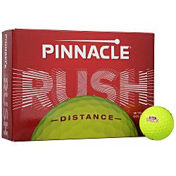 View a larger, more detailed picture of the Pinnacle Rush Golf Ball - Dozen