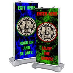 View a larger, more detailed picture of the Indoor Outdoor Retractor Banner