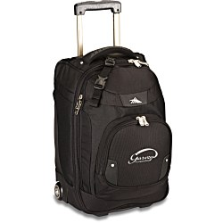 View a larger, more detailed picture of the High Sierra 21 Wheeled Carry-On w Laptop Sleeve