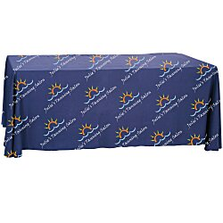 View a larger, more detailed picture of the Convertible Table Throw - 4 to 6 - Full Color