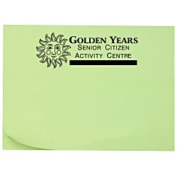 View a larger, more detailed picture of the Post-it&reg Notes - 3 x 4 - 25 Sheet - Colors - Recycled