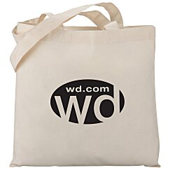 View a larger, more detailed picture of the Cotton Sheeting Economy Tote - Organic