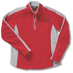 View a larger, more detailed picture of the Recycled Polyester Half Zip Fleece - Ladies