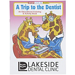 View a larger, more detailed picture of the A Trip to the Dentist Coloring Book
