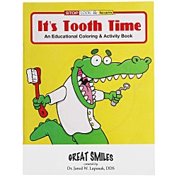 View a larger, more detailed picture of the It s Tooth Time Coloring Book