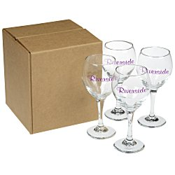 View a larger, more detailed picture of the Perception Wine Glass Set - Colored Box
