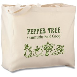 View a larger, more detailed picture of the Eco Design Organic Grocery Tote