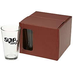 View a larger, more detailed picture of the Pint Glass Set - Colored Box