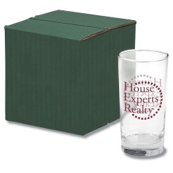 View a larger, more detailed picture of the Deluxe Beverage Glass Set - Colored Box