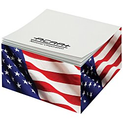View a larger, more detailed picture of the Post-it&reg Notes Cubes - 285 Sheets - Patriotic