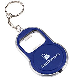 View a larger, more detailed picture of the Key-Light Bottle Opener - Round