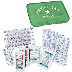 View a larger, more detailed picture of the Companion Care First Aid Kit - Translucent - 24 hr
