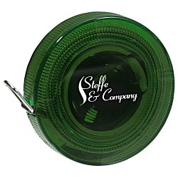 View a larger, more detailed picture of the Deluxe Fabric Tape Measure - Translucent - 24 hr
