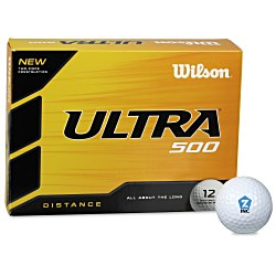 View a larger, more detailed picture of the Wilson Ultra Golf Ball - Dozen - 24 hr
