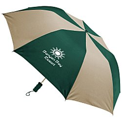 View a larger, more detailed picture of the Barrister Auto Opening Folding Umbrella - 24 hr
