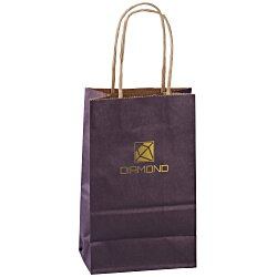 View a larger, more detailed picture of the Matte Shopping Bag 8-1 4 x 5-1 4